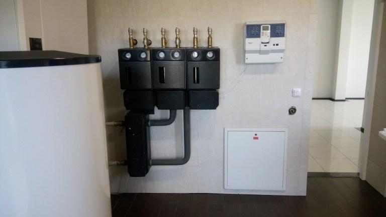 Отопление частного дома Иванковичи 2