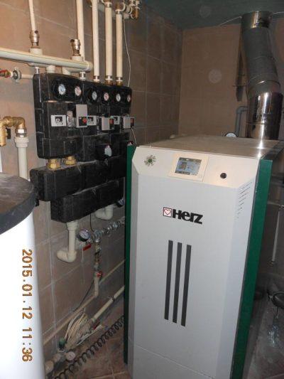 Отопление дома 600 кв м Киев 3