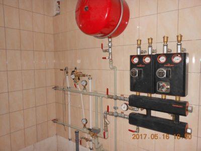 Отопление дома Киевская область коттедж 350 кв. м